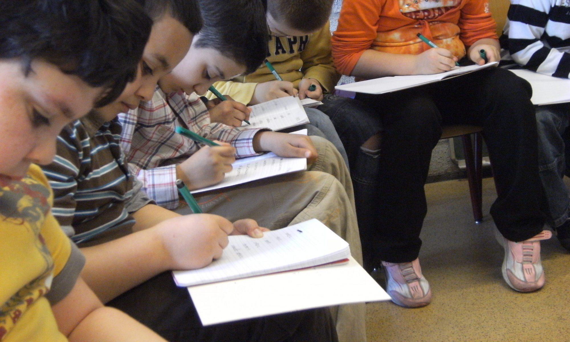Iedereen kan leren schrijven