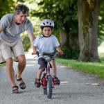 Leren fietsen en leren schrijven
