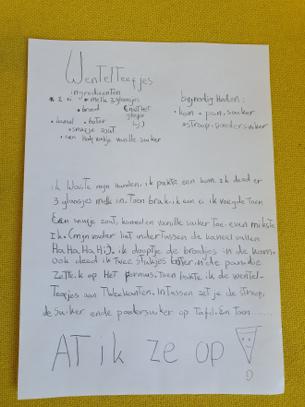 Groep 5: recept voor wentelteefjes